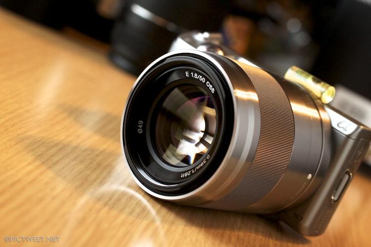 E50mm F1.8 OSS