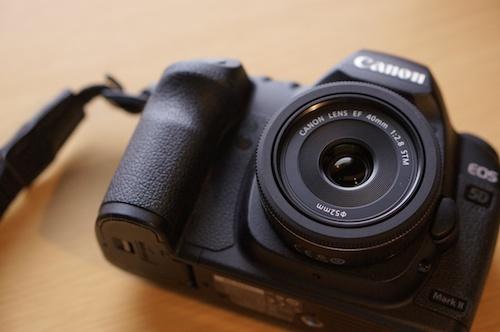 EF40mmと5Dmark2