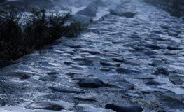 雨上がりの河原